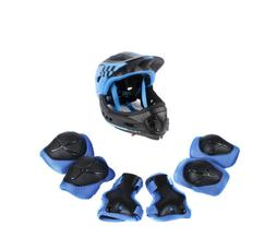 CIGNA Kids Bicycle Bike Convertible Helmet Blue S-size w/Blu
