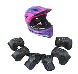 CIGNA Kids Bicycle Bike Convertible Helmet Purple S-size w/B