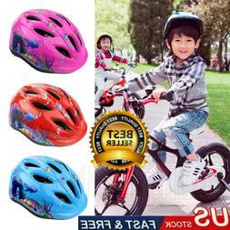 Kids Boys Girls Safety Roller Skating Bike Helmet Protective