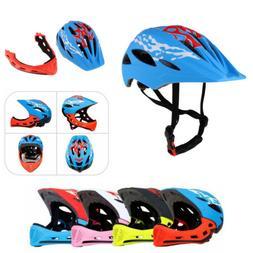 Kids Children Safety Full Helmet for BMX Bike Scooter Skate