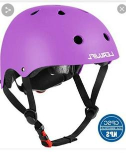 LERUJIFL Kids Helmet Adjustable from Toddler to Youth Size,