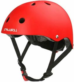 LERUJIFL Kids Helmet Adjustable from Toddler to Youth Size,A