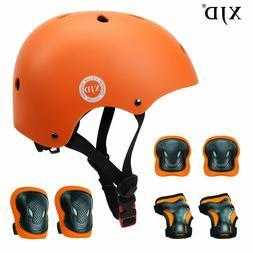 XJD Kids Helmet Knee Pads for Kids 3-8 Years Toddler Helmet