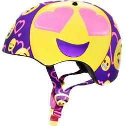 Raskullz kids smile emoji helmet new ages 5-8