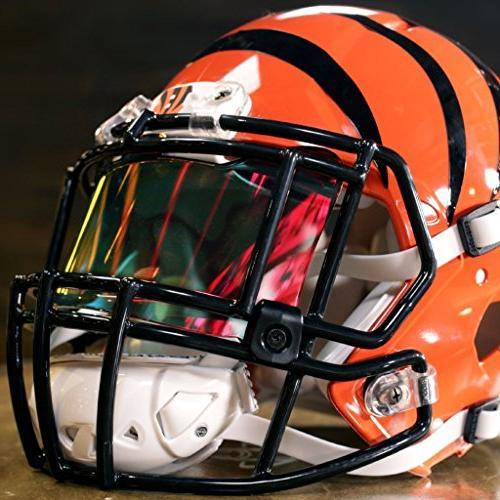 Shoc Tigers Blood Visor for Football & Lacrosse Helmets