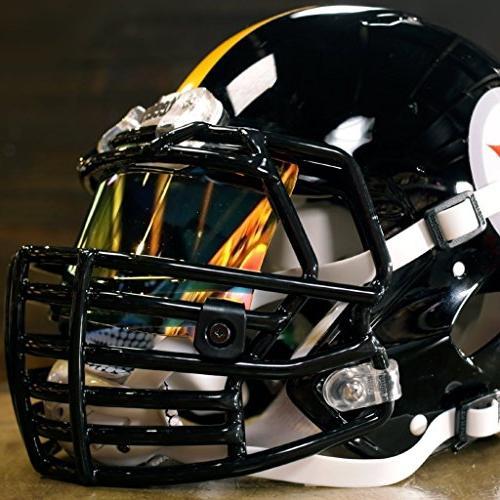 Shoc 1.0 Tigers Visor for Football Lacrosse Helmets
