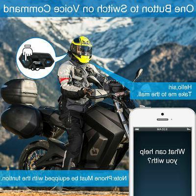 2000m Intercom Bluetooth Headset 8 Communication