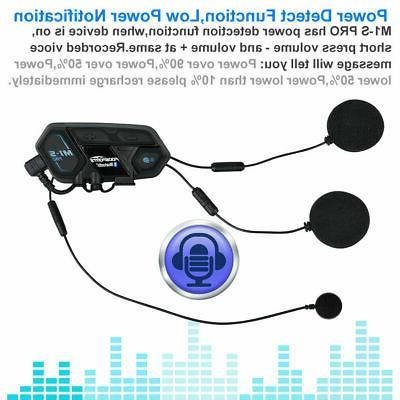 2000m Motorcycle Bluetooth Communication