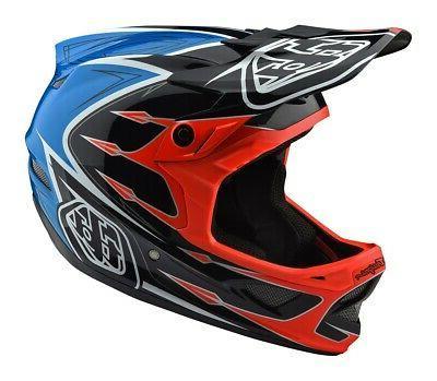 Troy Lee Designs 2018 Bike D3 Composite Helmet Corona Orange Adult All Sizes