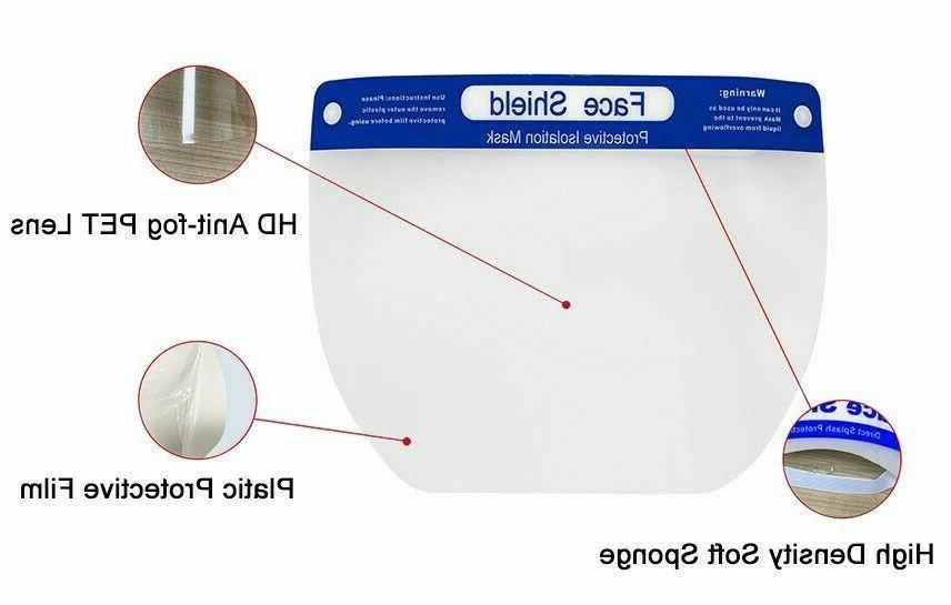Sheild Mask Anti-Fog Eye Face Guard Helmets