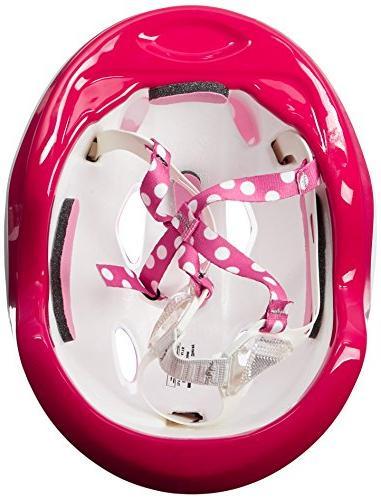 Bell Minnie Pretty Polka Toddler Helmet