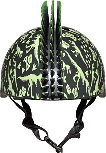 Raskullz T-Rex Mohawk Helmet,
