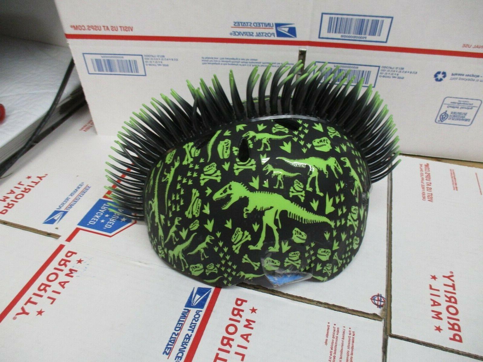Raskullz T-Rex Bonez Mohawk Helmet, 3+