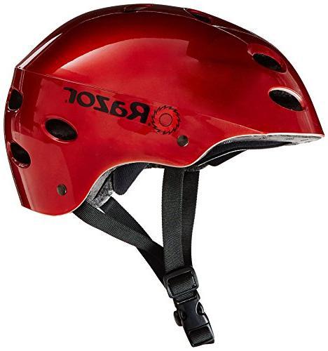 Razor Helmet, Red