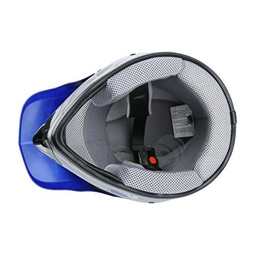 TCMT Youth Kids Motocross Helmet Motorcycle Helmet Helmet+Goggles+gloves