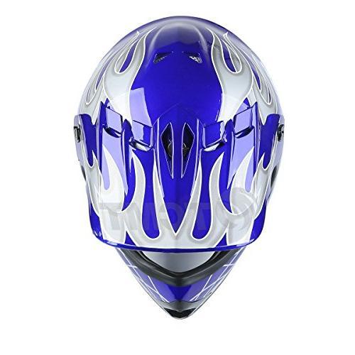 TCMT Kids Motocross Helmet Helmet Helmet+Goggles+gloves