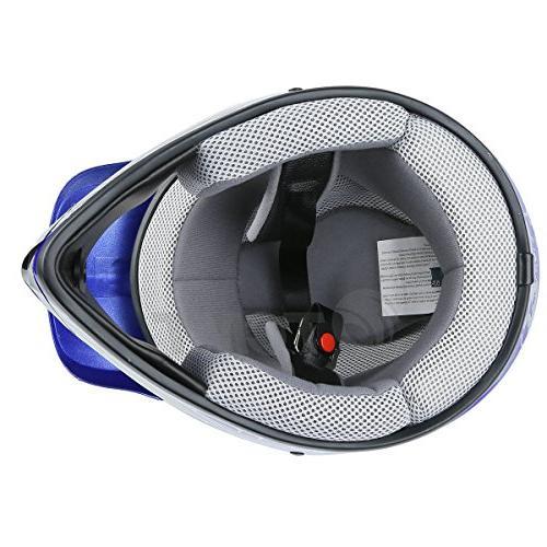 TCMT Youth Kids Motocross Helmet Skull Helmet Dirt