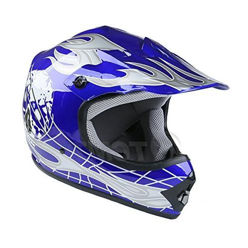 TCMT Dot & Kids Offroad Helmet Helmet Helmet+Goggles+gloves