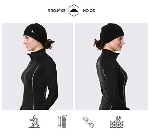 Tough Headwear Helmet Skull Ear Covers. Performance Wicking. Under