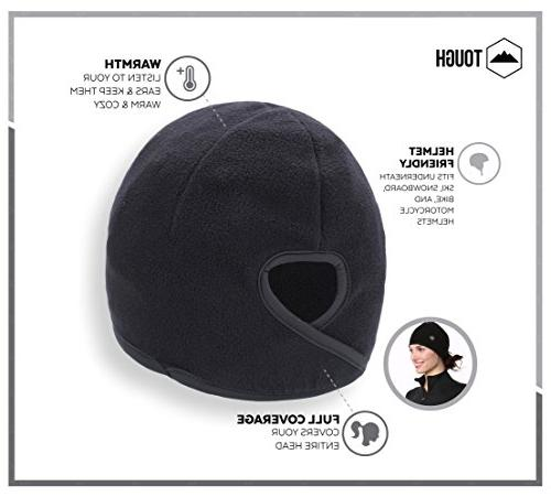 Tough Headwear Helmet Covers. Performance Wicking. Under