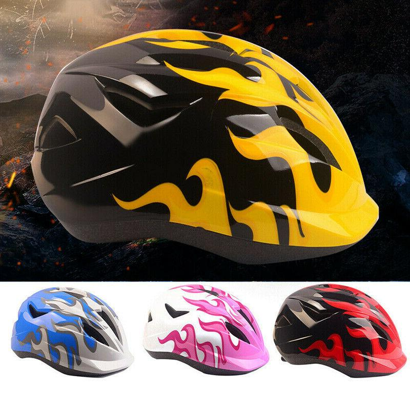 Kids Boys Girls Bike Helmet Bicycle Skating Scooter Safety P