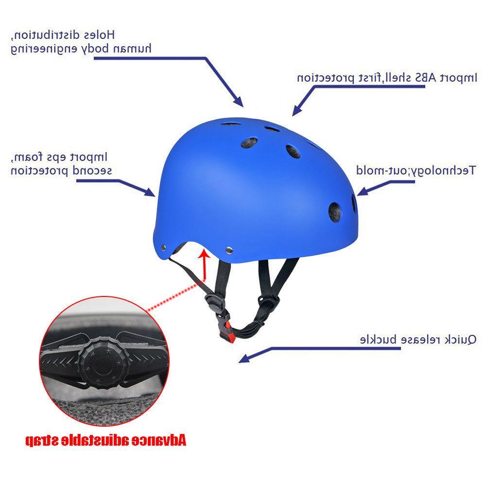 Adult Skate BMX Helmets Adjustable