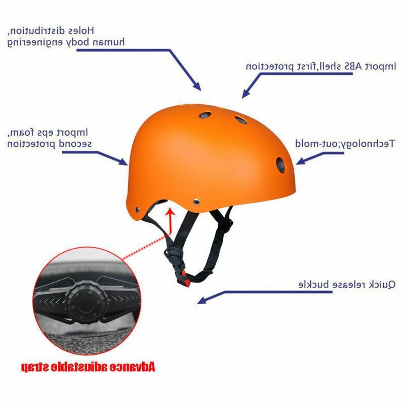 Adult Skate BMX Bike Board Helmets Safety US