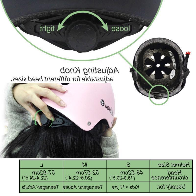 Adult BMX Scooter Helmets Adjustable Safety