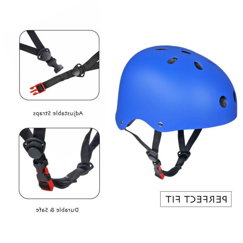 Adult Helmet BMX Scooter Helmets Adjustable US