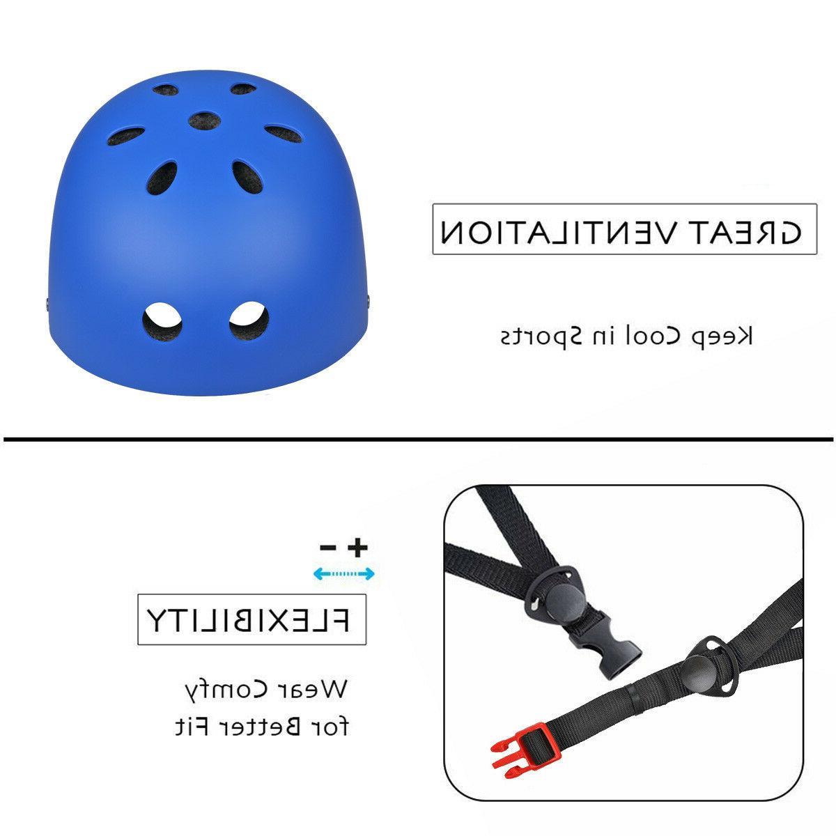 Adult Kids Skate BMX Bike Helmets Safety