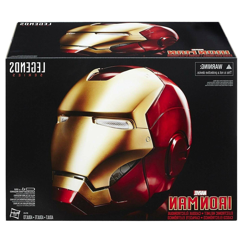 avengers iron man electronic helmet