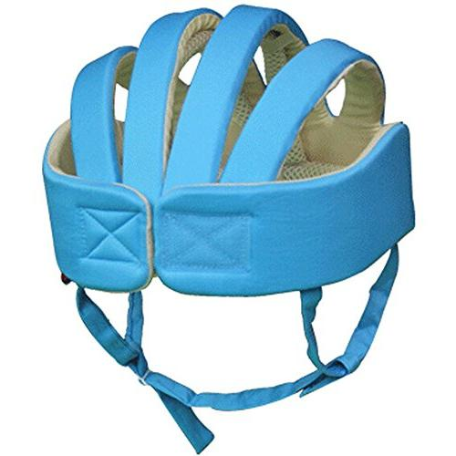 Huifen Children Toddler Adjustable Safety Headguard Protective Harnesses Cap Blue, Environment When Walk Playing Blue Hat