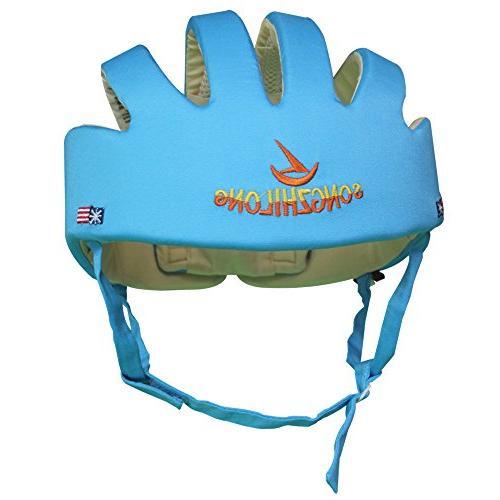 Huifen Children Toddler Adjustable Blue, Walk Playing Baby Blue Hat