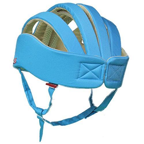 Huifen Baby Children Toddler Headguard Cap Blue, Safer Environment When Walk Blue Hat