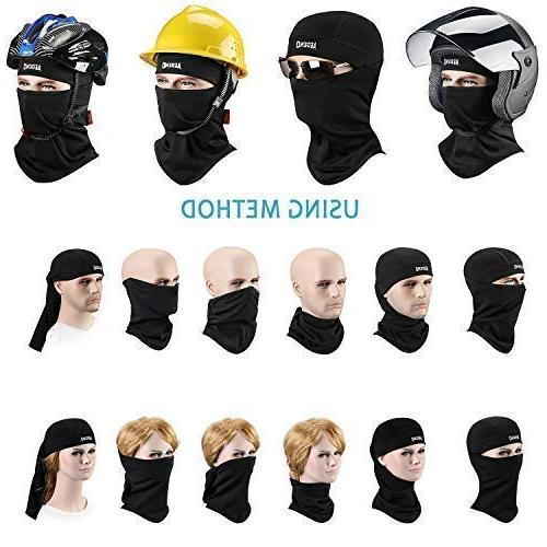 Balaclava Aegend Windproof Neck Hood Women Men Cycling Outdoors Liner Piece