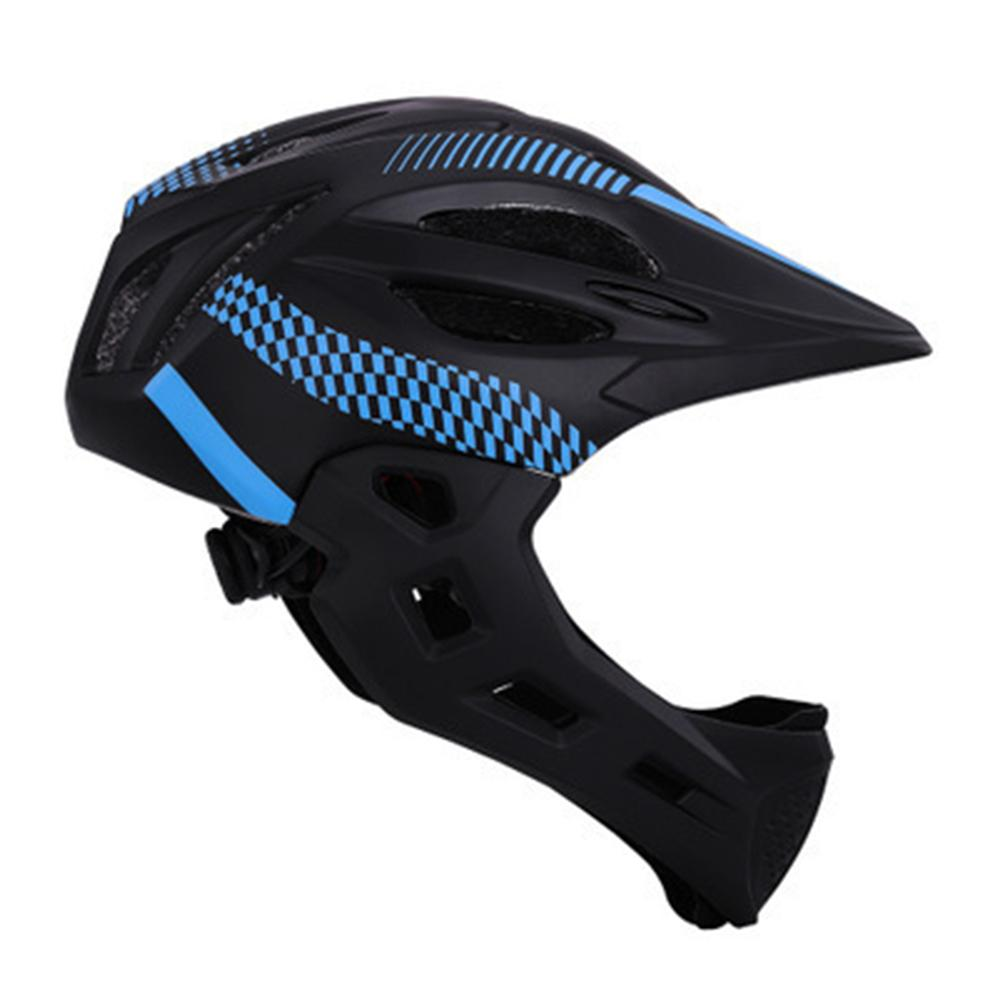 Balance Safe Cycling Riding Full Face Detachable With Rear Bicycle <font><b>Helmet</b></font>