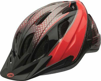 banter youth bike helmet black and infrared