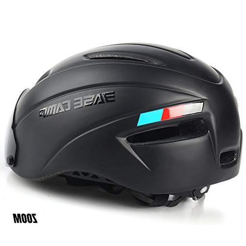 BASE CAMP Zoom/Zoom Road Bike Helmet Removable
