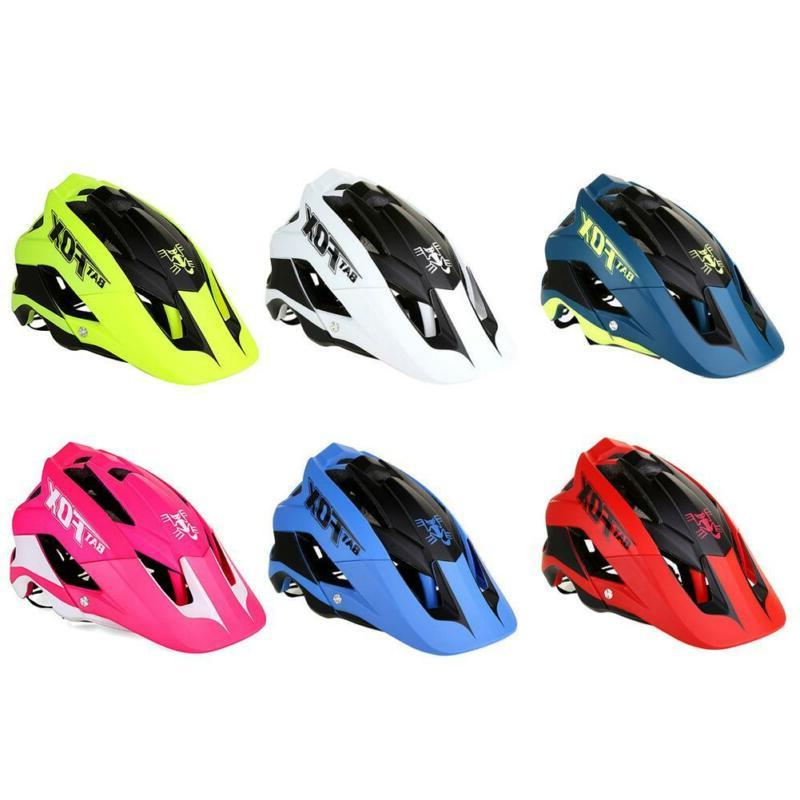 BATFOX Bicycle Bike One-Piece Safety Helmets