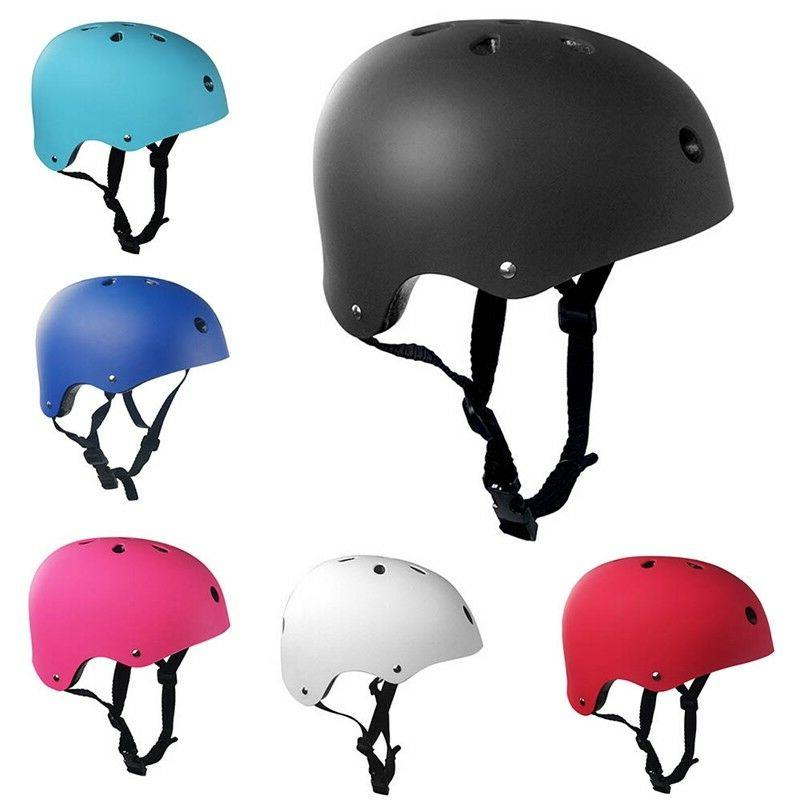 Bicycle BMX Skateboard Skate Bomber Black Helmet