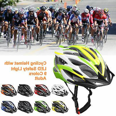 Bicycle Bike Adult Adjustable Safety Helmet Visor