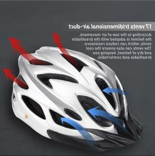 Bicycle Adult Adjustable Unisex Helmet