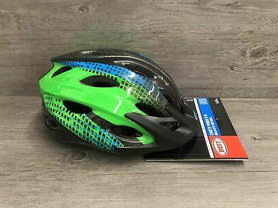 Bell Bicycle Helmet Child Ages 5 Black Green