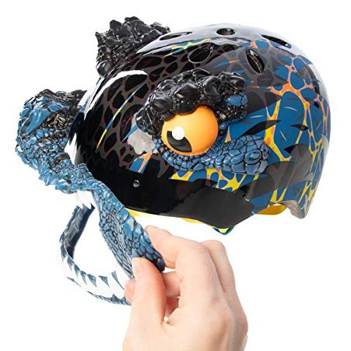 Raskullz Bike Kids 5-8 Dino T Mask Bicycle Helmet Boys