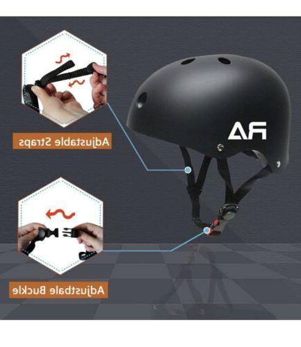 Bike CPSC Adjustable and Skateboard Helmet