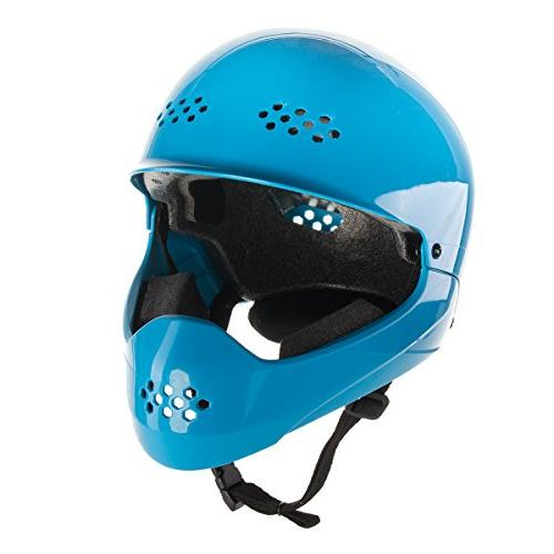 Bell Shield Full Face Children's Bike Helmet, Cyan
