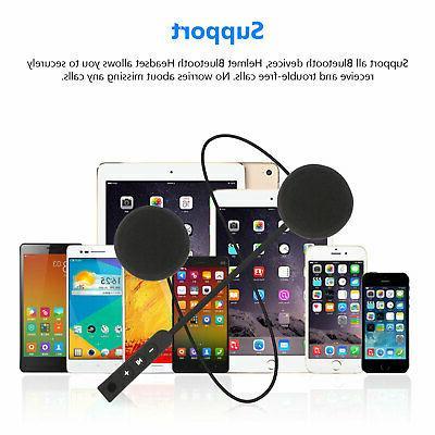 Headset Speakers Handsfree Rechargeable