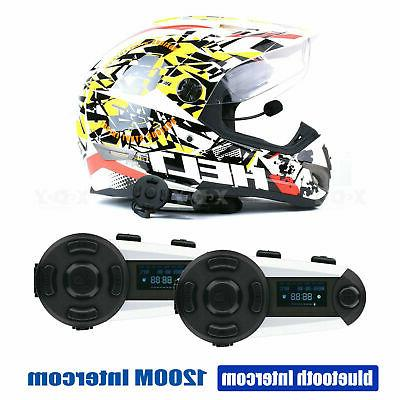 bluetooth t20s motorbike intercom helmet headset headphone