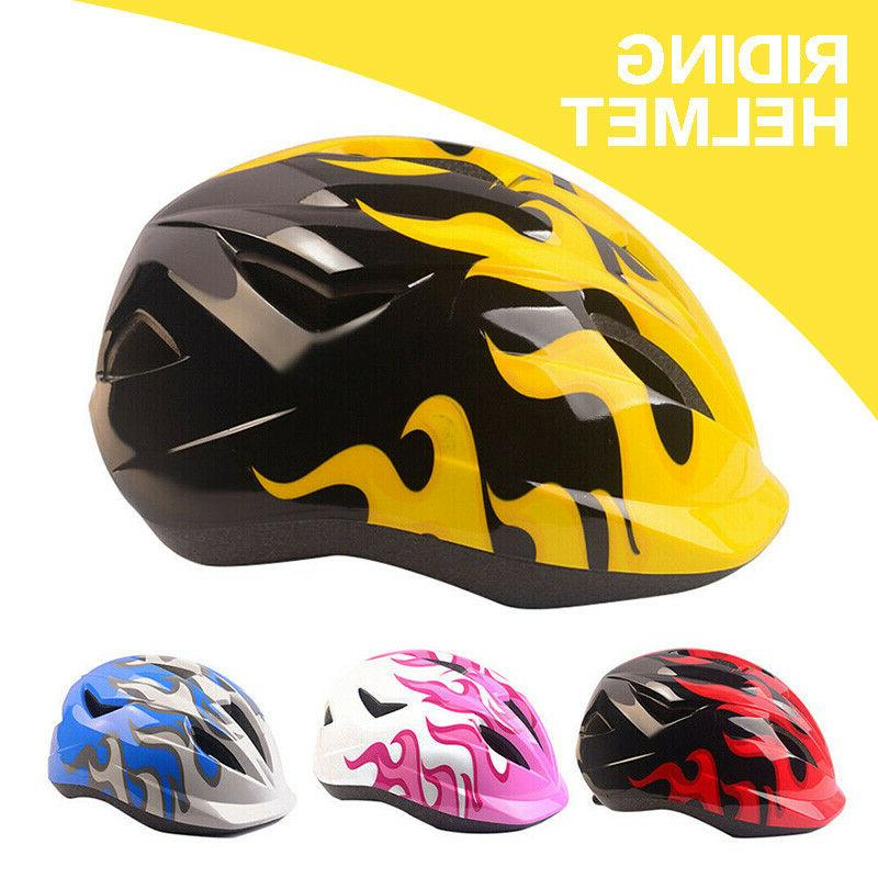 Boys Girls Safety Helmet Kids Bike Bicycle Skating Scooter P
