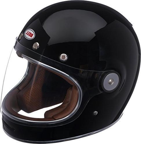 bullitt full face motorcycle helmet solid gloss